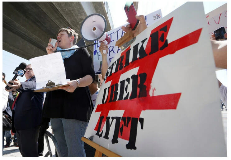 Win for Gig Workers: California Rules Uber Can't Hack Labor Laws - Inequality.org